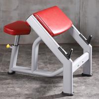 商用牧师椅二头肌神器肱二头肌健身器材二头肌训练板牧师凳 家用