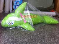 淘气堡电动配件 软包PVC海豚 电动海豚旋转秋千 室内儿童乐园